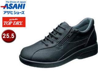 ASAHI/アサヒシューズ AF37509 TDY3750 アサヒトップドライ 婦人靴 【25.5cm・3E】(ブラックPB)