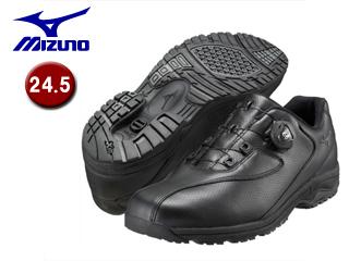 mizuno/ミズノ B1GC1526-09 LD40 Boa メンズウォーキングシューズ 【24.5】 (ブラック)