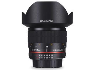 SAMYANG/サムヤン 14mm F2.8 ED AS IF UMC ニコンF(AE)用 フルサイズ 【お洒落なクリーニングクロスプレゼント!】