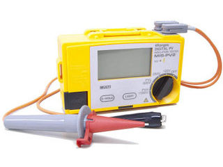 MULTI/マルチ計測器 太陽電池パネル対応絶縁抵抗計 MIS-PV2