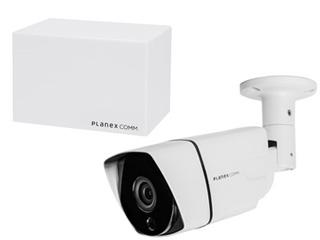 PLANEX/プラネックスコミュニケーションズ 防水・防塵ネットワークカメラ(有線) スマカメ Professional CS-QP80F+DB-WRT01-CR同時購入セット