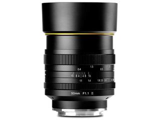 KAMLAN/カムラン KAM0020 50mm F1.1 II Canon-M用 キヤノン Mマウント