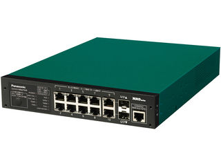 パナソニックESネットワークス 【キャンセル不可】8ポート PoE給電スイッチングハブ 3年先出しセンドバック保守バンドル PN27089KB3
