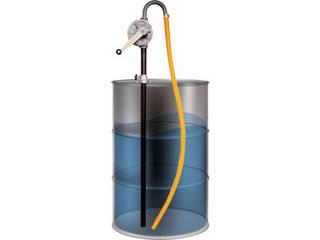 AQUA/アクアシステム 手廻しドラムポンプ 灯油 軽油 オイル(500cP以下対応) HR-2B