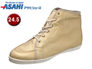 ASAHI/アサヒシューズ AX11211-1 アサヒウォークランド L035GT ゴアテックス スニーカー 【24.5cm・2E】 (ホワイト/ゴールド)