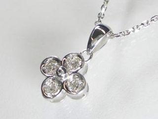 【JS3904K18WG】 SIN ハート&キューピットダイヤペンダント 【花型】【18金ホワイトゴールド】【天然ダイヤ使用】 【納期に3~4週間かかるため、単品での購入でお願い致します。】【SINDYP】