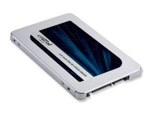Crucial CT500MX500SSD1/JP 内蔵SSD 2.5インチ MX500 500GB (3D TLC NAND/SATA 6Gb/s)