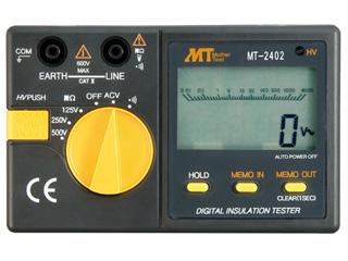 MotherTool/マザーツール MT-2402 デジタル絶縁抵抗計