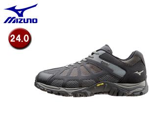 mizuno/ミズノ B1GA1509-09 ウエーブアドベンチャーBR ウォーキングシューズ 【24.0cm】 (ブラック)