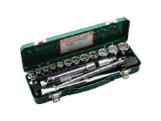 TONE/トネ ソケットレンチセット 差込角12.7mm 17点セット 750MS