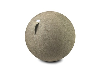 HAFELE/ハーフェレ 【VLUV/ヴィーラヴ】ファブリックシッティングボール 55cm ベージュ SBV002.55CKI2