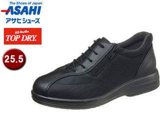ASAHI/アサヒシューズ AF38621 TDY38-62 トップドライ ウォーキングシューズ レディース 【25.5】 (ブラック)