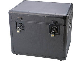 TRUSCO/トラスコ中山 万能アルミ保管箱 黒 610X457X508 TAC-610BK