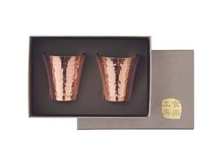 信託 アサヒ 食楽工房 NEW ARRIVAL CNE982 ペア純銅冷酒カップ