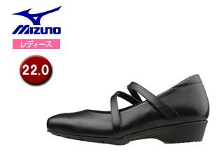 mizuno/ミズノ B1GH1661-09 レディースウォーキングシューズ セレクト600 【22.0】 (ブラック)