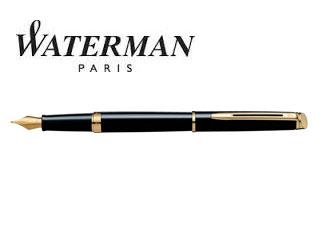WATERMAN/ウォーターマン 【メトロポリタン】エッセンシャル ブラックGT 万年筆 F