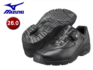 mizuno/ミズノ B1GC1526-09 LD40 Boa メンズウォーキングシューズ 【26.0】 (ブラック)