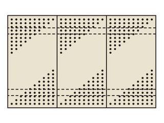 SAKAE/サカエ 【代引不可】パンチングウォールシステム PO-453LN
