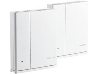 スマートスピーカーなどのIoT機器が より繋がりやすく より切れにくくなる ELECOM エレコム Wi-Fi 5 メッシュ e-Meshスターターキット 400Mbps 期間限定の激安セール 11ac WMC-DLGST2-W 激安特価品 867 対応無線LANルーター