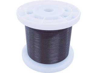 NISSA/ニッサチェイン 黒コーティングワイヤロープ 1.5mm×100m TSY15V-BK