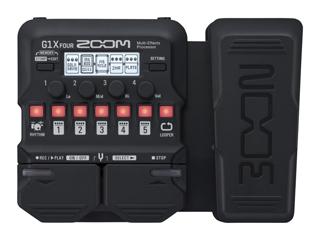ZOOM/ズーム ZOOM G1X FOUR Multi-Effects Processor マルチエフェクター