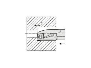 KYOCERA/京セラ 内径加工用ホルダ S10H-SCLCR03-05AE