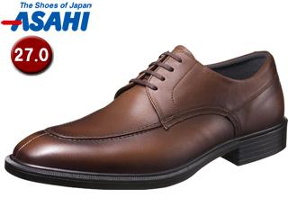 ASAHI/アサヒシューズ AM33082 TK33-08 通勤快足 メンズ・ビジネスシューズ 【27.0cm・3E】 (ブラウン)