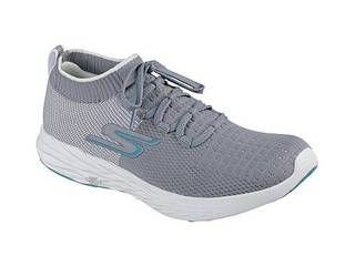 SKECHERS/スケッチャーズ GO RUN 6 (GYW)GRAY/WHITE/23cm
