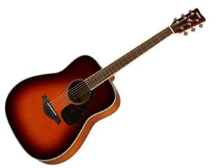 YAMAHA/ヤマハ FG-820 BS (ブラウンサンバースト) アコースティックギター 【SFG820BS】 【YMHAG】【YMHFG】【ソフトケース付き】[【RPS160415】
