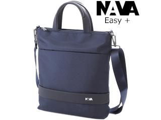 NAVA DESIGN/ナヴァデザイン 2WAYトートバッグ【ナイトブルー】着脱ショルダー付■EASY+/TOTE BAG(EP068NB )