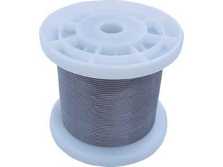 NISSA/ニッサチェイン 透明コーティングワイヤロープ 1.5mm×100m TSY15V-CLR