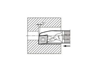 KYOCERA/京セラ 内径加工用ホルダ E12Q-SCLPR08-14A