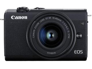 CANON/キヤノン EOS M200・EF-M15-45 IS STM レンズキット(ブラック) 3699C008