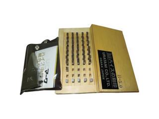 URATANI/浦谷商事 ハイス精密組合刻印 Bセット5.0mm (1S=1箱) UC-50BS