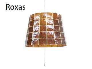 ELUX/エルックス LC10751-WH ルチェルカ 3灯ペンダント ロハス (アンバー) 【コード:ホワイト】※ナツメ球のみ付属