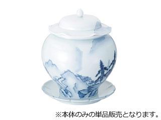 青磁山水仏跳壇 中
