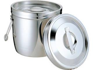 MT18-8二重汁食缶 クリップ無 両手式 10L