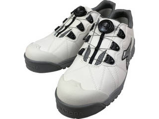 DONKEL/ドンケル DIADORA/ディアドラ 安全作業靴 フィンチ 白/銀/白 29.0cm FC181-290