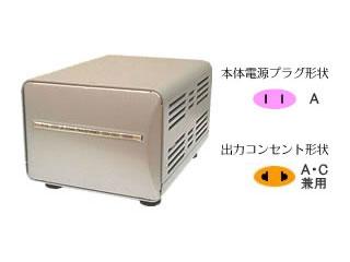 カシムラ NTI-27 海外国内用大型変圧器 【220-240V/550VA】