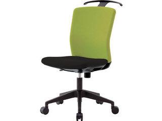 IRIS CHITOSE/アイリスチトセ 【代引不可】ハンガー付回転椅子(フリーロッキング) グリーン/ブラック HG-X-CKR-46M0-F-LGN