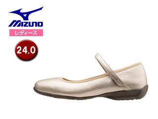 mizuno/ミズノ B1GH1570-49 レディースウォーキングシューズ SELECT520 【24.0】 (ゴールド)