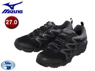 mizuno/ミズノ B1GA1702-09 WAVE GAZELLE/ウエーブガゼル ウォーキングシューズ 【27.0】 (ブラック)
