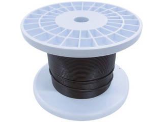 NISSA/ニッサチェイン 黒コーティングワイヤロープ 2.0mm×100m TSY20V-BK
