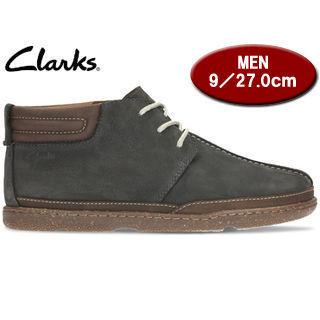 Clarks/クラークス 26122271 Trapell Mid トラペルミッド メンズ 【JP27.0/UK9.0】(ネイビーヌバック)