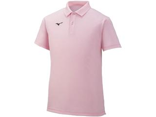 多色展開ゲームシャツが、2XS~3XLの幅広いサイズ展開で登場! mizuno/ミズノ ポロシャツ ユニセックス M (ライトピンク) 32MA9670-65