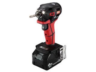 高価値セリー 充電式インパクトドライバ(本体・電池セット)(レッド) MAX/マックス PJID151RB2/1850A:エムスタ-DIY・工具