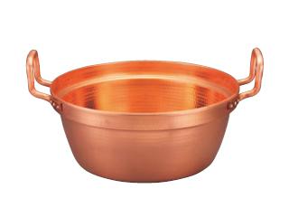 MARUSHIN/丸新銅器 銅 段付鍋 錫引きなし 33
