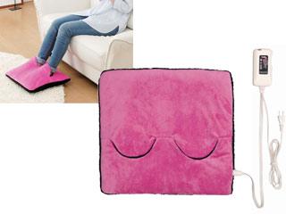 Sugiyama/椙山紡織 ホットマルチヒーター(ピンク)