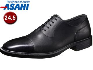 PKSS06 ASAHI/アサヒシューズ AM33091 TK33-09 通勤快足 メンズ・ビジネスシューズ 【24.5cm・3E】 (ブラック)