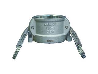 TOYOX/トヨックス カムロック ツインロックタイプカプラー ダストキャップ ステンレス 634-BL 2 SST